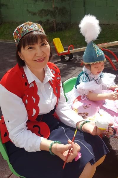 Ольга Капкашева, Алматы