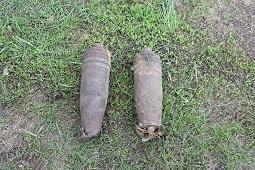 Снаряды из прошлого обезврежены в настоящем