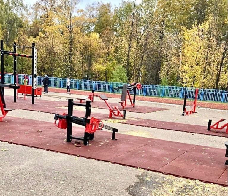Во взрослом парке завершили работы по укладке