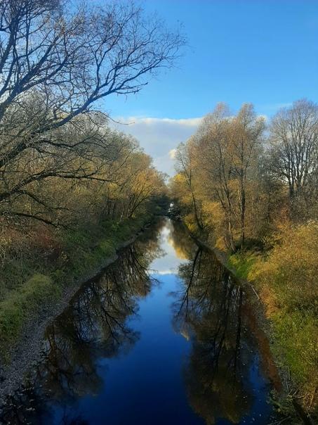 Вишерский канал, поворот на деревню Новоселицы...