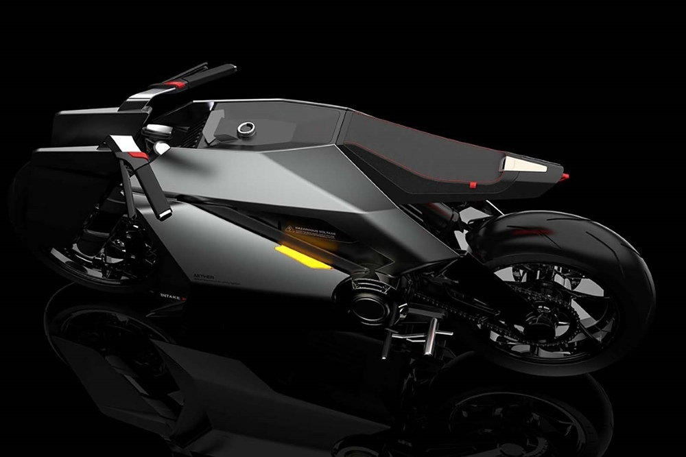 Концепт электрического мотоцикла Aether