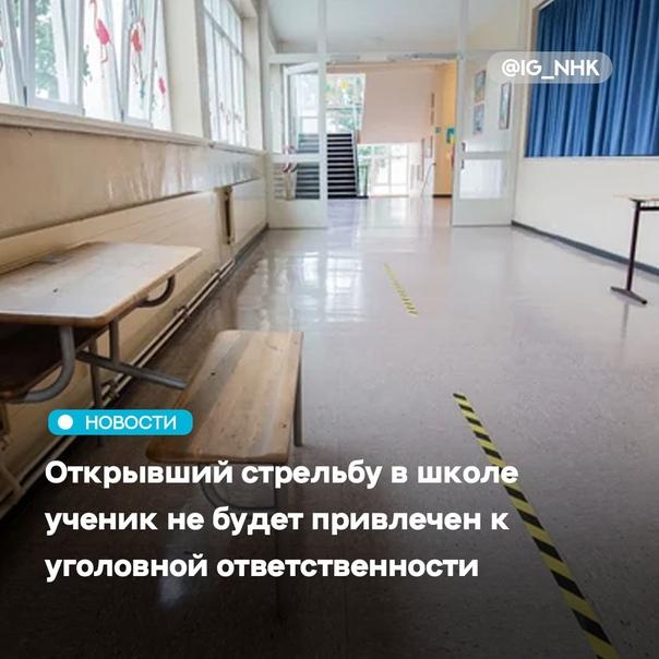 Ученик, устроивший стрельбу в школе в поселке Сарс...