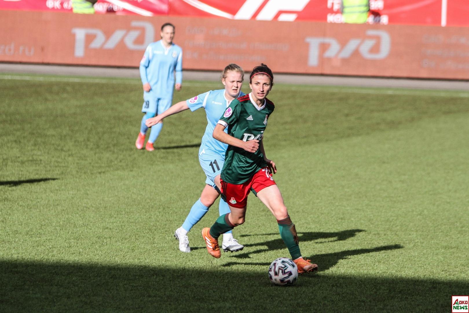 ЖФК Локомотив - Рязань-ВДВ. Фото: Дмитрий Бурдонов / Loko.News