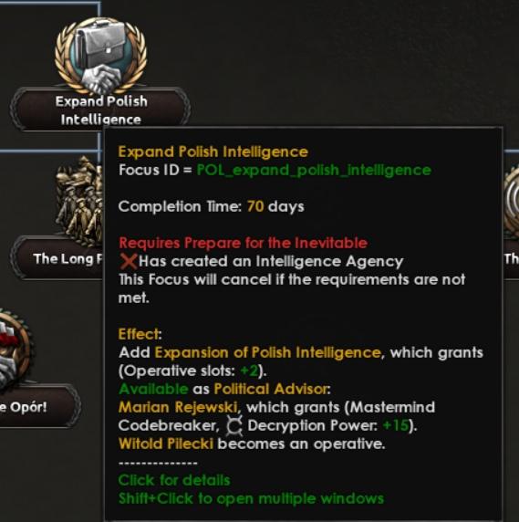 Дневник разработчиков Hearts of Iron IV — Изменение древа фокусов Польши, часть 2, изображение №32