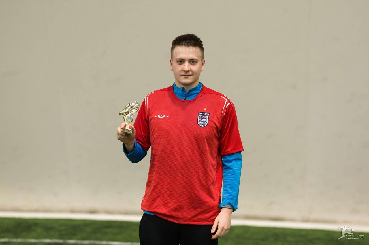 Антон Шевченко («Спайс Бойз») — лучший бомбардир дивизион Новосада.