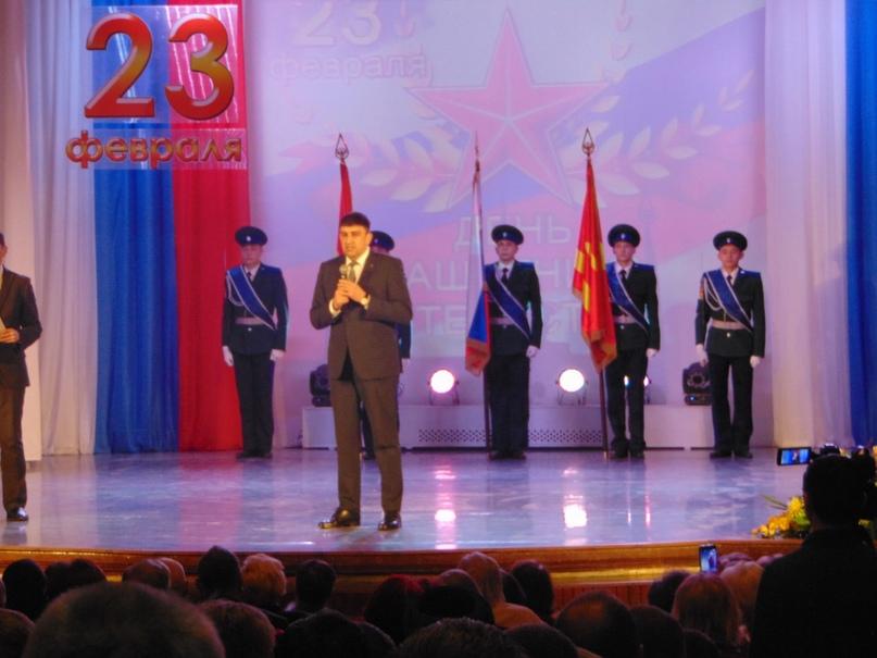 На торжественном собрании, посвященном Дню Защитника Отечества, изображение №5