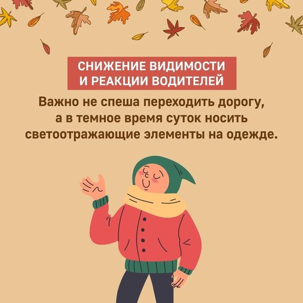 Осенью многие из родителей недооценивают риск полу...