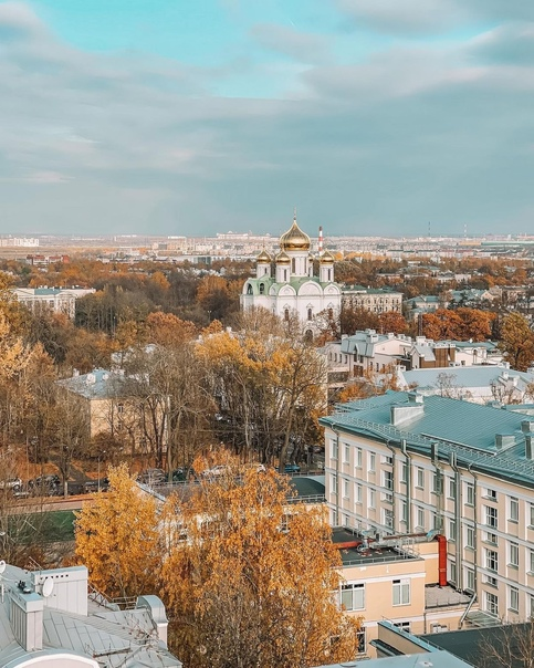 30 метров над Царским Селом.📍г. Пушкин, Лицейский переуло...