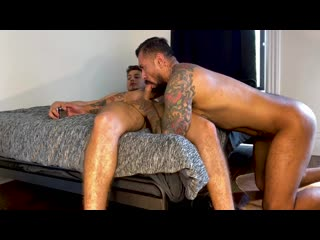 NakedSword – Model Behavior- How To Make A Porn – Angel Rivera, Boomer Banks – Bareback