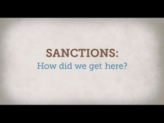 Sanctions: How Did We Get Here?
