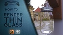 VMT 057 How to render thin glass with Mantra