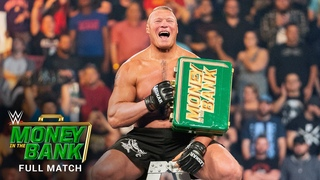 FULL MATCH - Men's Money in the Bank Ladder Match: WWE Money in the Bank 2019