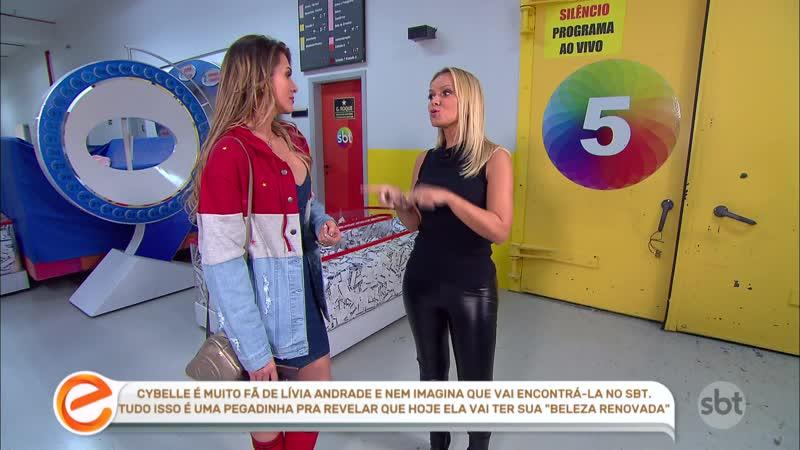 Eliana ( Calça de Couro ) e Livia Andrade ( Decote )