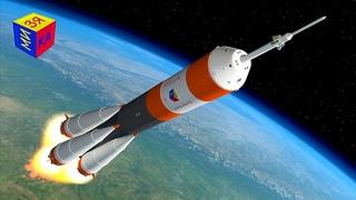 Мультик для детей про ракету и космос. Конструктор: собираем ракету