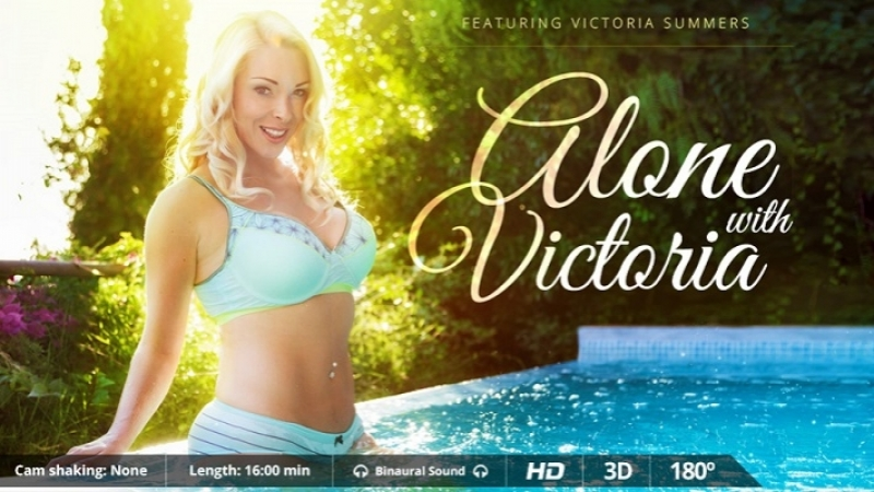VRon Victoria Summers ( Alone with Victoria) 2017 г. , Blowjob, Cowgirl, Cum, Doggy, Virtual Reality, VR,