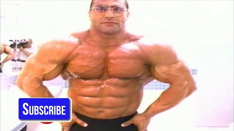 Nasser El Sonbaty Arms Traps Calves Workout For 1997 YouTube