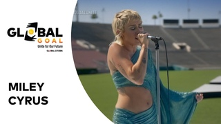 """Miley Cyrus Performs """"Help!"""" 