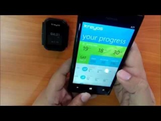 Kreyos Meteor Windows Phone 8 Demo