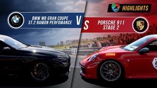 BMW M8 Gran Coupe St.2 vs Porsche 911 St.2   UNLIM 500+ 2020 Highlight  