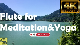 Flute for Meditation & Yoga - Coffee Time,Meditation,Relaxing,Instrumental Music,4K,Hi-Fi