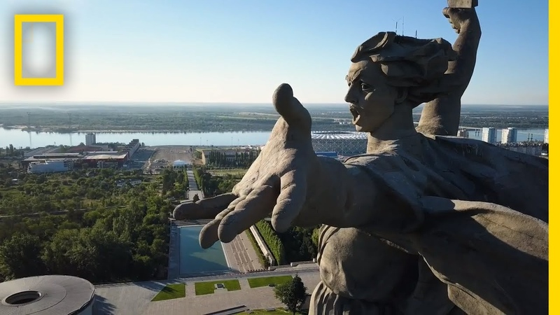 The Story Behind Europe's Tallest Statue The Motherland Calls National Geographic