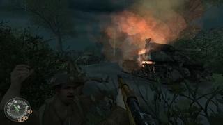Прохождение Call of Duty 2: Часть 7# (4K 60FPS)
