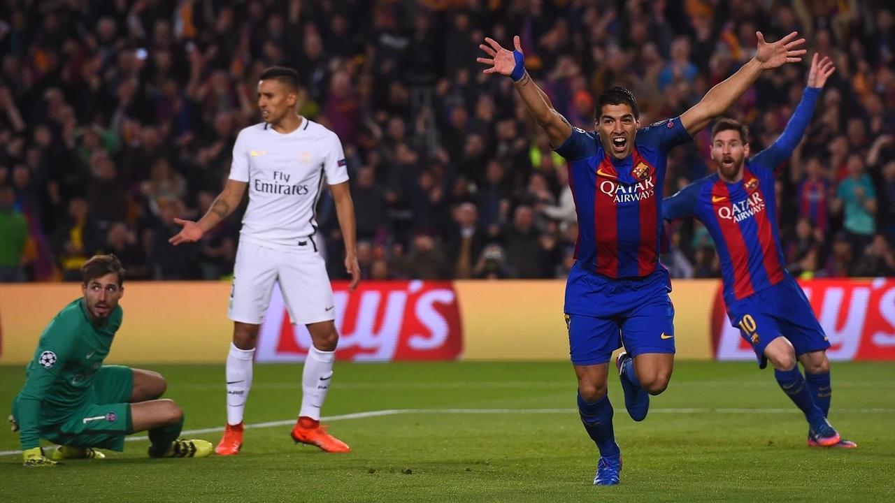 Барселона - ПСЖ, 6:1. Лига чемпионов