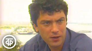 Интервью губернатора Бориса Немцова. НЭП. Новости. Экономика. Политика (1992)