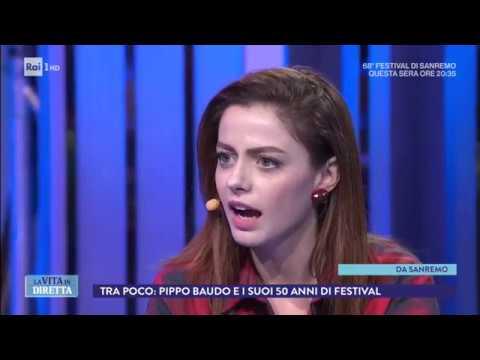 Sanremo 2018 - Annalisa: La mia canzone di rinascita e cambiamento - La Vita in Diretta 08/02/2018
