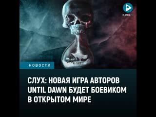 Новая игра авторов Until Dawn, похоже, будет боевиком в открытом мире