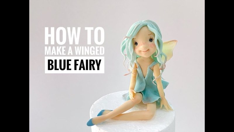 LET S MAKE A BLUE FAIRY !. Como modelar una hadita con alas.