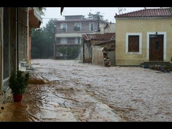 Πνίγηκε η Δυτική Ελλάδα Νεκρός εργάτης από κεραυνό στην Ηλεία
