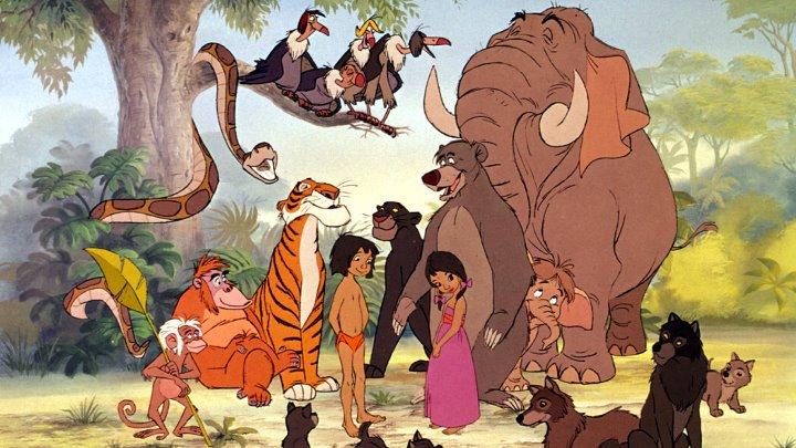 Книга джунглей 1967 мультфильм