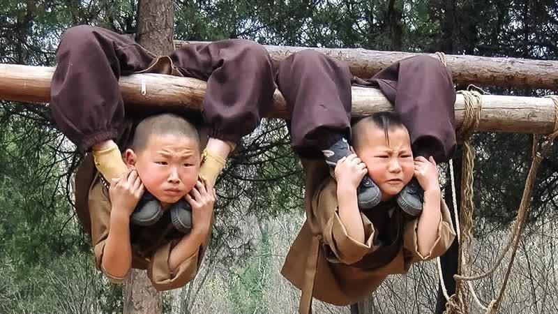 Мастерская Настроения Вот Как Проходят Тяжелые и Беспощадные Тренировки Монахов Шаолинь