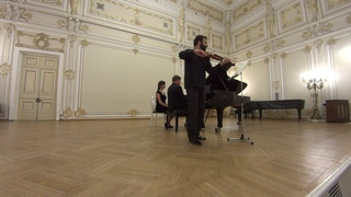 Ilya Gringolts and Peter Laul play Mozart Sonata A-dur KV526