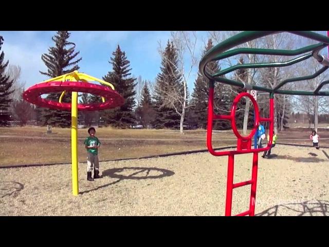 Парки и детские площадки в Калгари Канада North Glenmore Park