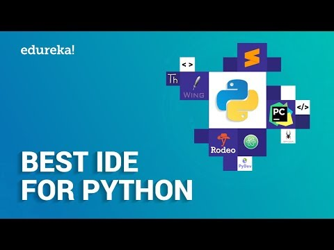 Best Python IDEs | Top 10 IDEs for Python | Python Training | Edureka