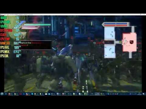 RPCS3   PS3 EMU - Dynasty Warriors: Gundam 3   Ryzen 5 3600   1660ti