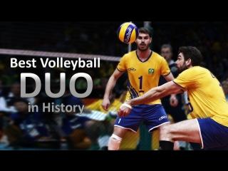 Best volleyball duo in history - bruno rezende  lucas saatkamp