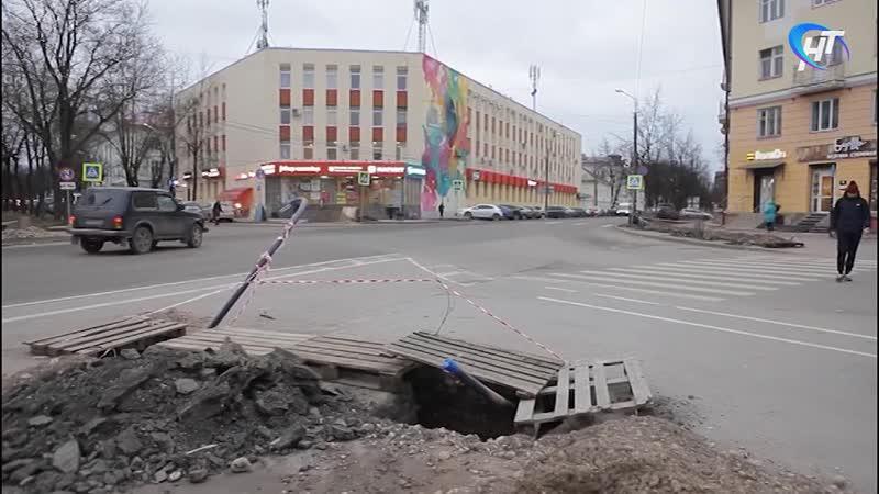 У Руси и на Пяти углах в Великом Новгороде появятся светофоры