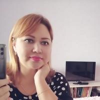 Фотография страницы Надежды Писаревой ВКонтакте