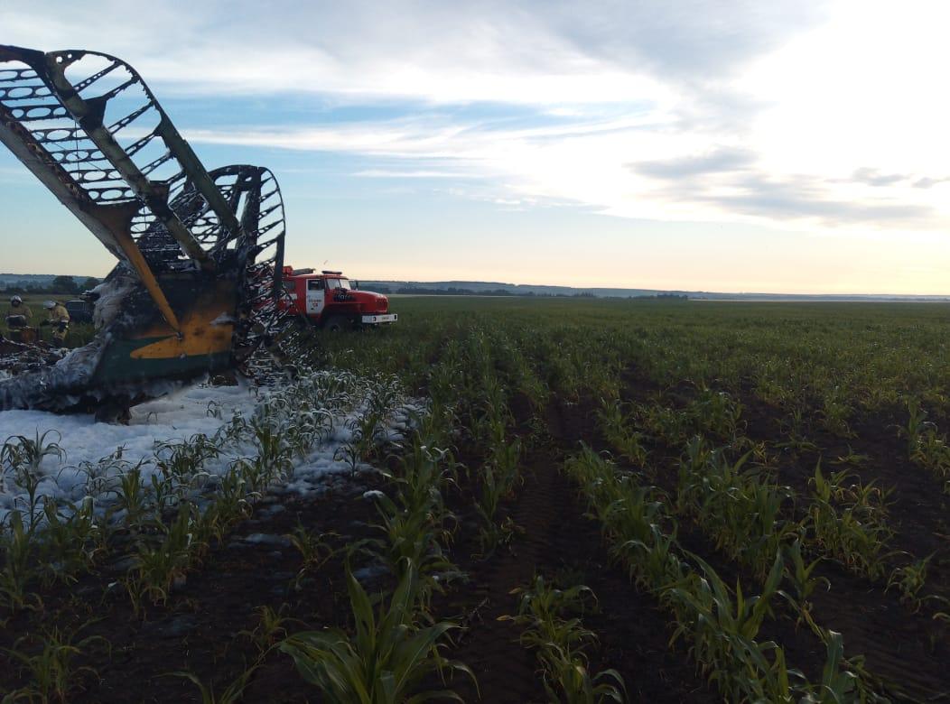 кукурузник разбился в Большеболдинском районе