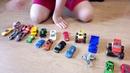 #Тачки #Маквин #Смельчак #Вспыш . 54 машинки в грузовике