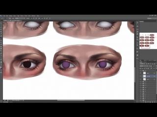 [Sakimichan]  20 Steps Detailed Eyes