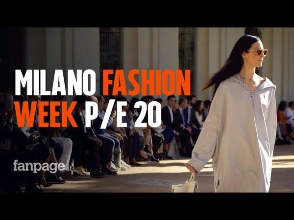 Milano Fashion Week P E 2020 i backstage e le sfilate top della settimana della moda