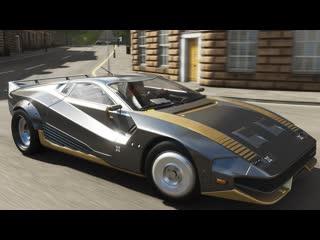Forza Horizon 4 - Quadra Turbo-R V-Tech 2058 Gameplay