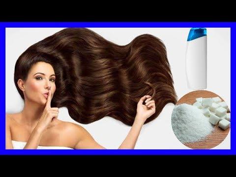 Cómo Utilizar el Azúcar en el Shampoo - Beneficios del Azúcar en el Cabello