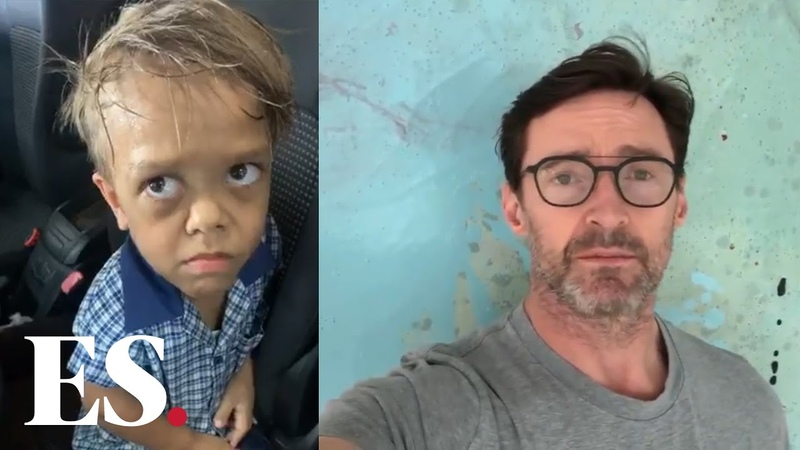 Quaden Bayles Actor Hugh Jackman has sent a message of public support to the Australian boy