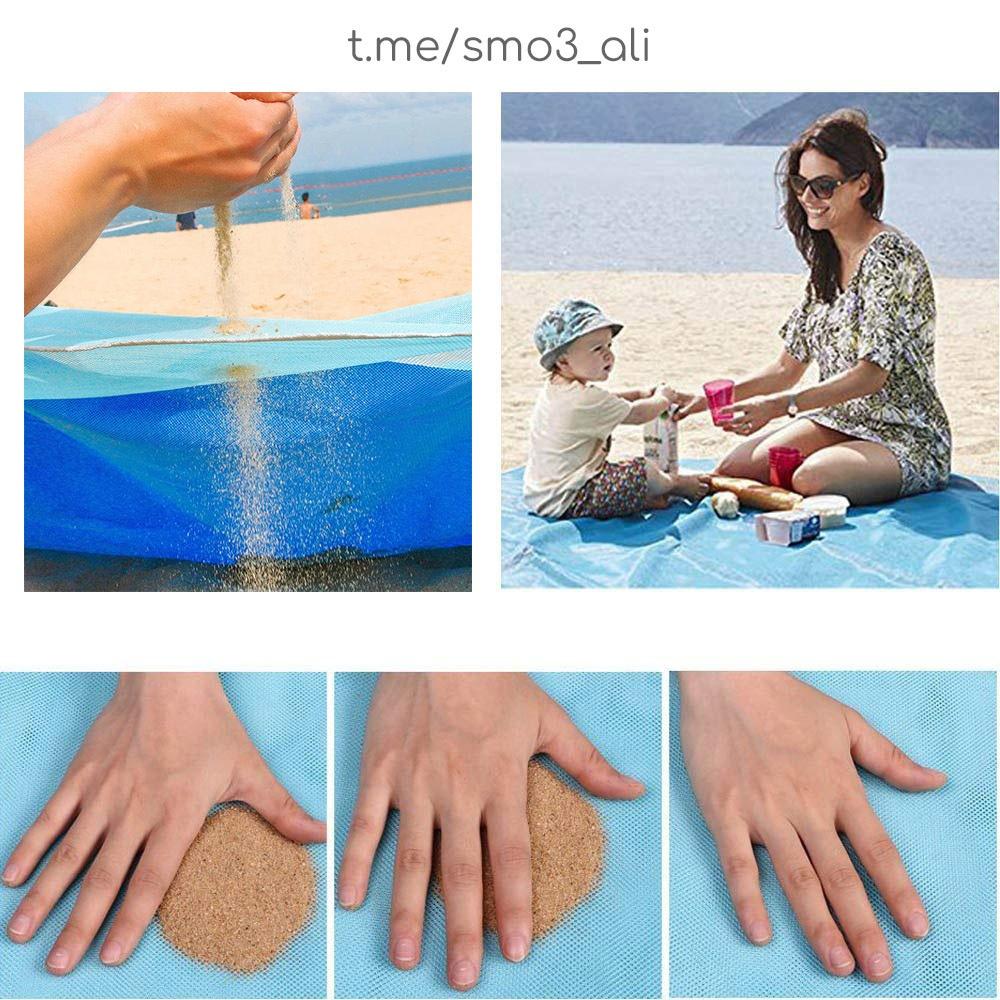 Пляжное покрывало которое пропускает песок -