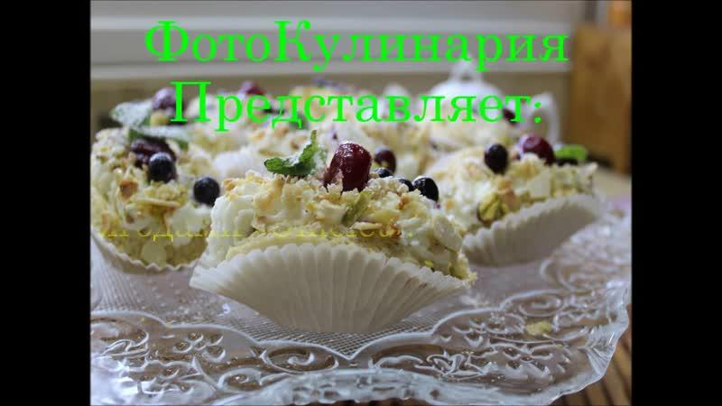 Японские пирожные с ягодами Omelet